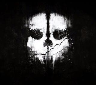 Обои на телефон череп, солдат, призрак, новый, игра, call of duty ghosts, call of duty