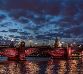Обои на телефон лондон, река, мост, британия, англия, thames