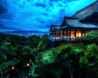 Обои на телефон японские, природа, пейзаж