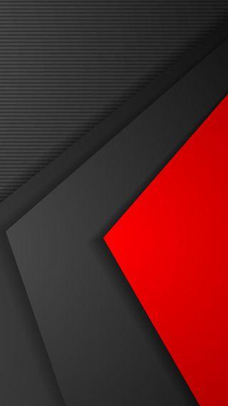 Обои на телефон треугольники, серые, серебряные, красые, абстрактные, s8, s7