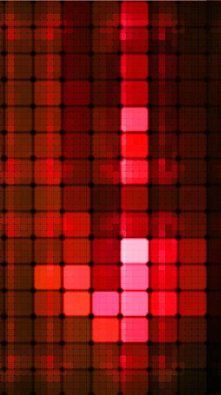 Обои на телефон квадраты, красые, абстрактные
