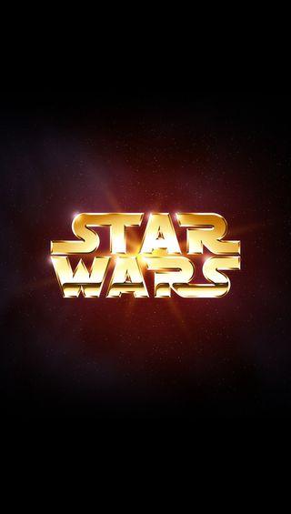Обои на телефон звездные войны, логотипы