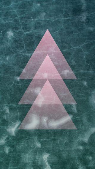 Обои на телефон треугольники, мрамор, домашний экран, дизайн, xl, quadhd, pixel, marble triangles