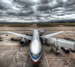 Обои на телефон самолет, небо, borde, air