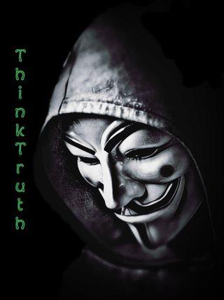 Обои на телефон скорпион, хакер, правда, думать, анонимус