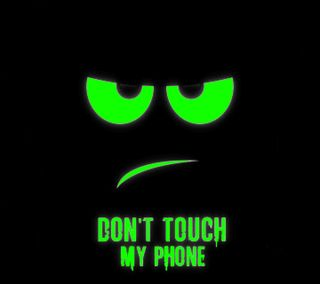 Обои на телефон трогать, не, телефон, мой, зеленые