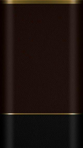 Обои на телефон кожа, черные, коричневые, золотые, грани, абстрактные