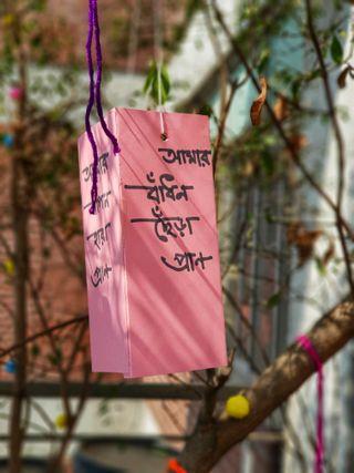 Обои на телефон фестиваль, цитата, празднование, поэма, песня, любовь, весна, бангладеш, love