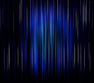 Обои на телефон полосы, синие, абстрактные