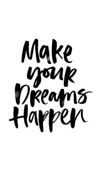 Обои на телефон твой, мечты, делать, make your dreams, happen