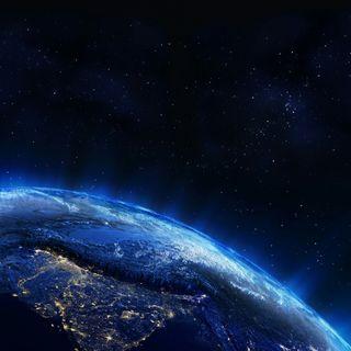 Обои на телефон шторм, солнце, синие, микс, луна, космос, земля, звезды, галактика, plus, galaxy