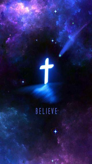 Обои на телефон верить, христианские, крест