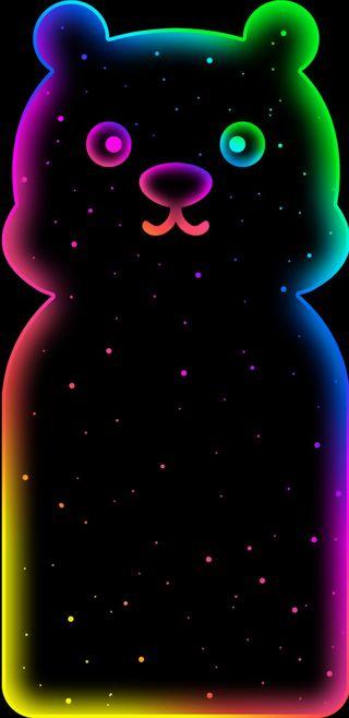 Обои на телефон панда, цветные, розовые, любовь, panda color, love