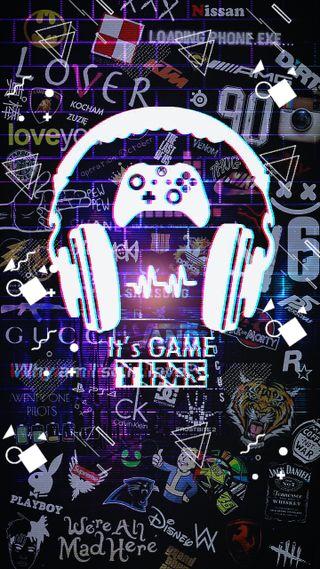 Обои на телефон игровые, игра, жизнь, время, game time