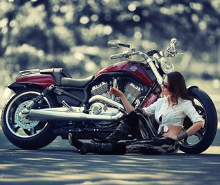Обои на телефон харли, мотоциклы