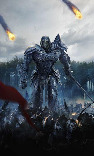 Обои на телефон рыцарь, фильмы, трансформеры, постер, transformers last knight, transformers 5