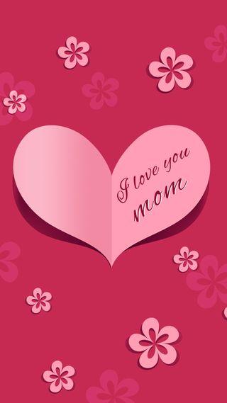 Обои на телефон карты, семья, матери, мамочка, мама, любовь, день, mothers day card, love