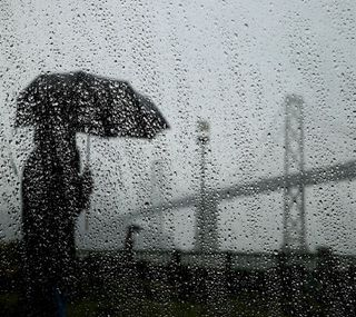 Обои на телефон дождь, день, --------------