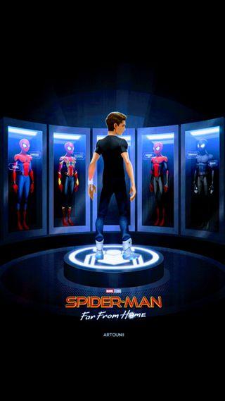 Обои на телефон человек паук, супер, паук, марвел, железный человек, дом, герой, spider man, power, marvel