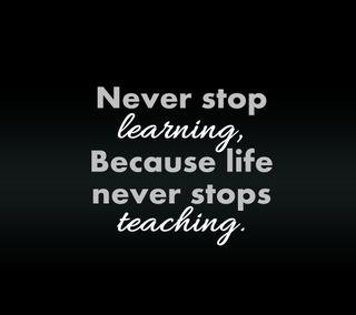 Обои на телефон стоп, приятные, поговорка, новый, никогда, любовь, знаки, жизнь, teaching, never stop, love, lesson