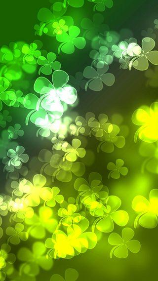 Обои на телефон ирландские, листья, клевер, день, градиент, st paddys day, shamrocks, gradient shamrocks, 4 leaf clover