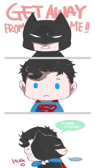 Обои на телефон супермен, бэтмен, superman n batman, fdsh