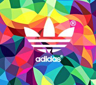 Обои на телефон бренды, адидас, цветные, логотипы, adidas