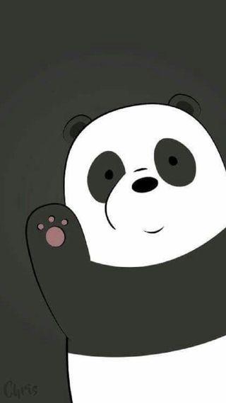 Обои на телефон медведь, панда