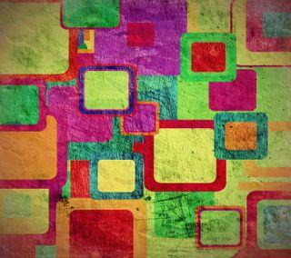 Обои на телефон квадраты, фон, мотивация, красочные, абстрактные