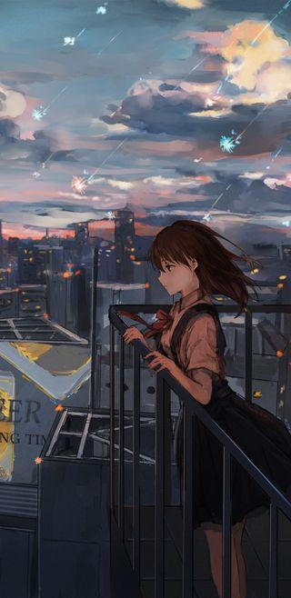Обои на телефон девушки, аниме