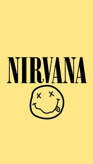 Обои на телефон нирвана, мотивация, музыка, логотипы, nirvana logo