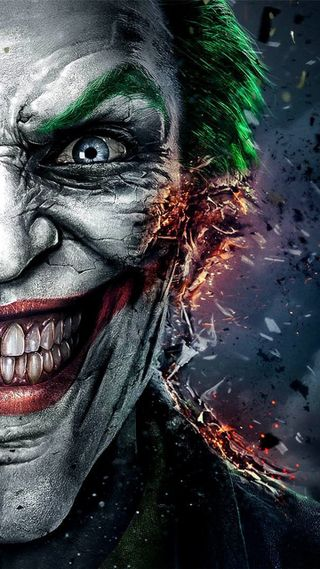 Обои на телефон ghost, joker injustice, фильмы, бэтмен, джокер, лицо, страшные, призрак, зло, пламя, опасные, несправедливость
