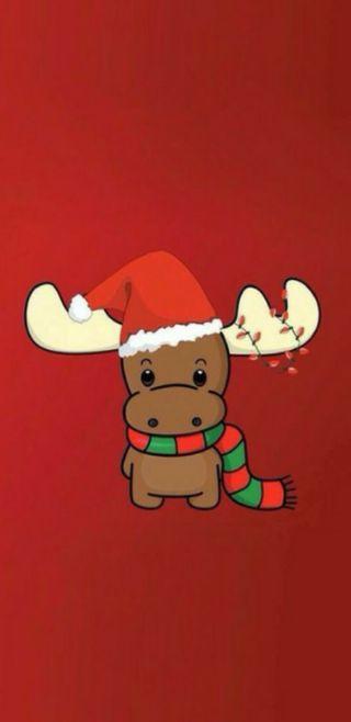 Обои на телефон олень, рождество, мультфильмы, милые, rudolph, cute reindeer