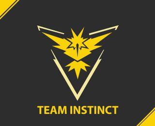 Обои на телефон инстинкт, сони, покемоны, команда, игра, желтые, team yellow, team instinct, htc, game sony, 4k
