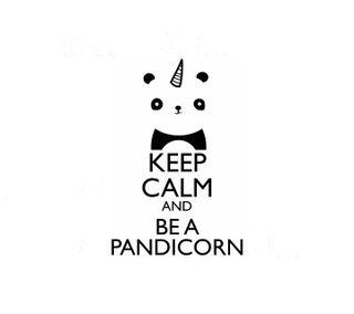 Обои на телефон будь, фан, спокойствие, панда, единорог, keep calm, be a pandicorn