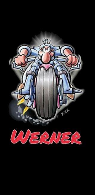 Обои на телефон комиксы, германия, werner, note 8, beinhart