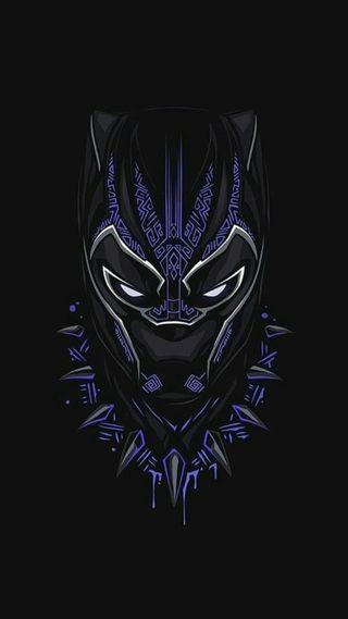 Обои на телефон черные, пантера, мстители