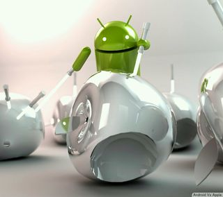 Обои на телефон против, эпл, андроид, apple, android vs apple, android