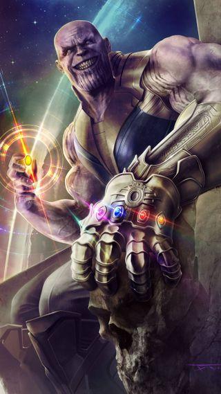 Обои на телефон танос, мстители, марвел, комиксы, война, бесконечность, marvel, infinity