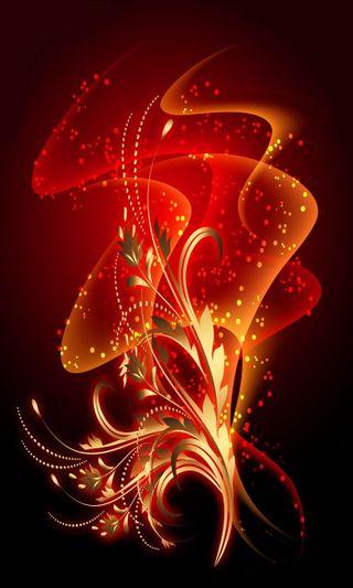 Обои на телефон танец, цветы, цветочные, огонь, абстрактные, coloful, abstract flower, abstract fire dance