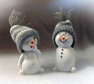 Обои на телефон снеговик, любовь, love snowman