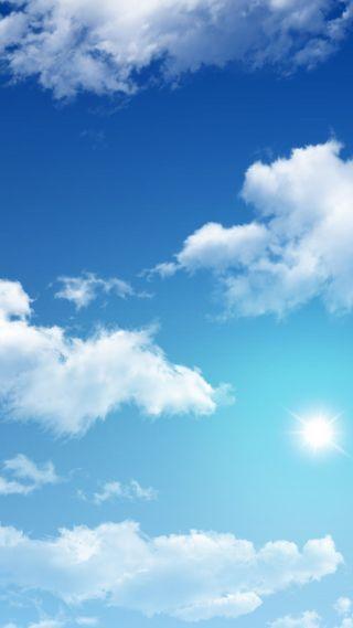 Обои на телефон солнечный свет, погода, облачно, облака, небо, partly cloudy, 1080p