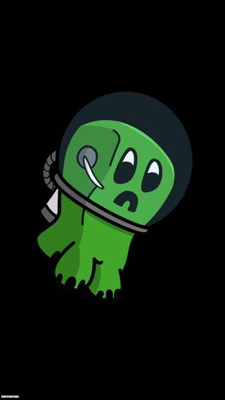 Обои на телефон майнкрафт, лучшие, крипер, astronot