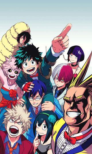 Обои на телефон вечеринка, ультра, любовь, деку, герой, боку, бакугоу, аниме, академия, plus ultra, love, boku no hero party