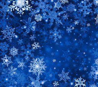 Обои на телефон шаблон, счастливое, снежинки, снег, рождество, зима