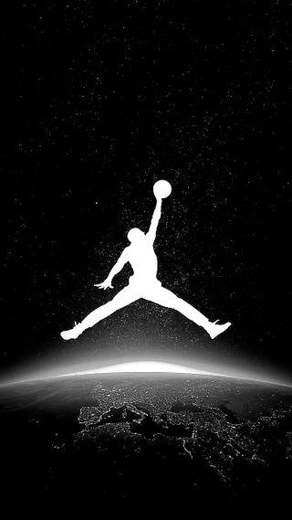 Обои на телефон air, синие, логотипы, грани, баскетбол, джордан, обувь, гром, символы, корзина