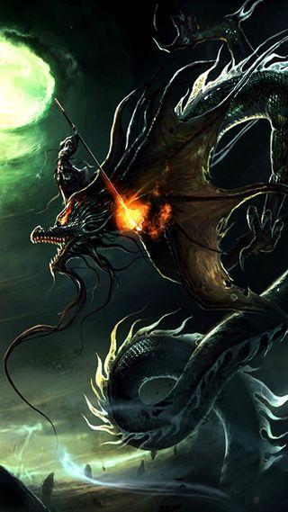 Обои на телефон готические, дракон, mythical, hd, dragon