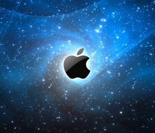 Обои на телефон эпл, логотипы, вселенная, apple universe, apple