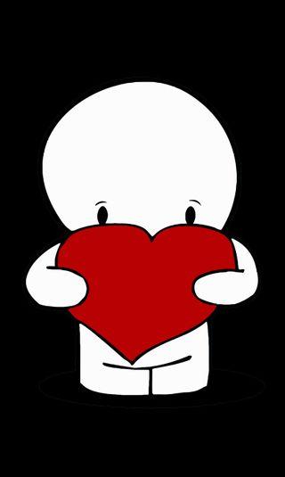 Обои на телефон нокиа, сердце, любовь, абстрактные, love