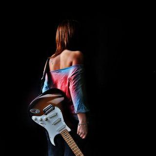 Обои на телефон гитара, девушки, girl-and-guitar